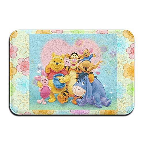 the-pooh-bear-family-non-slip-door-mat-indoor-outdoor-door-mat-157236-inch
