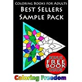 Patterns and Designs for Creative Adults: Best Sellers: Sample Pack for mindfulness, meditation, stress relief, relaxation, therapy, and fun (Books for creative adults Book 4)