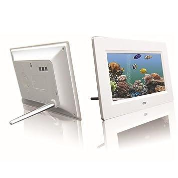 Han Shi Digital Photo Frame, 10inch 16:9 HD LCD, Remote Control ...