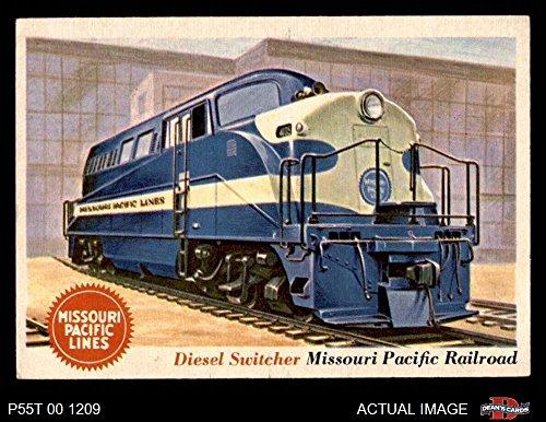 1955 Topps Rails & Sails # 36 Diesel Switcher (Card) Dean's Cards 5 - EX 2509301