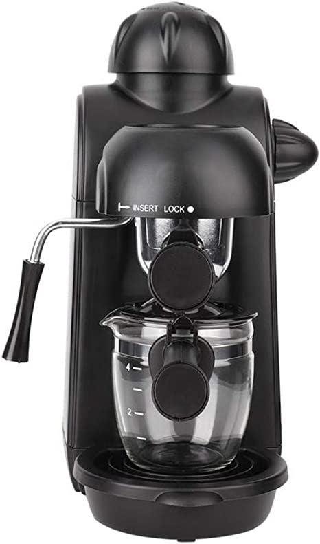 QHYY 240 ml del hogar Mini portátil Cafetera Cafetera para ...