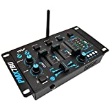 PYLE PRO PMX7BU 3-Channel Bluetooth(R) DJ Mixer electronic consumer