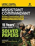 Solved Papers CAPF Assistant Commandant 2019
