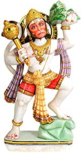 Buy Lord Hanuman White Marble Statue Online At Low