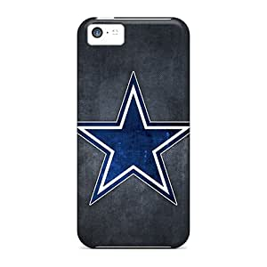 New Premium RareCases Dallas Cowboys Skin Case Cover Excellent Fitted For Iphone 5c