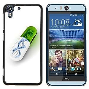 """For HTC Desire Eye ( M910x ) , S-type Píldora ADN"""" - Arte & diseño plástico duro Fundas Cover Cubre Hard Case Cover"""
