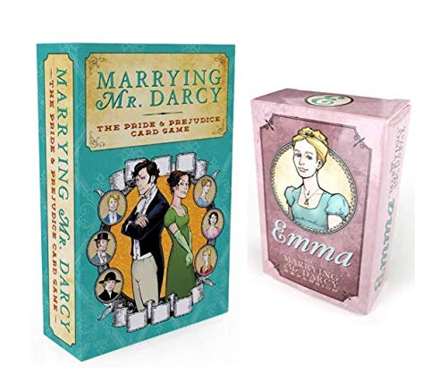 Marrying Mr. Darcy Game Bundle with Marrying Mr. Darcy (The Pride and Prejudice Card Game) and Emma Expansion by Evensen Creative (2 ()