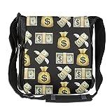 NYYSBU Crossbody Messenger Bag Emoji Dollar Money Shoulder Tote Sling Postman Bags One Size
