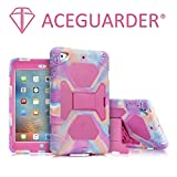 iPad Mini Case, ACEGUARDER Full Body Protective Premium Soft Silicone Cover with Screen