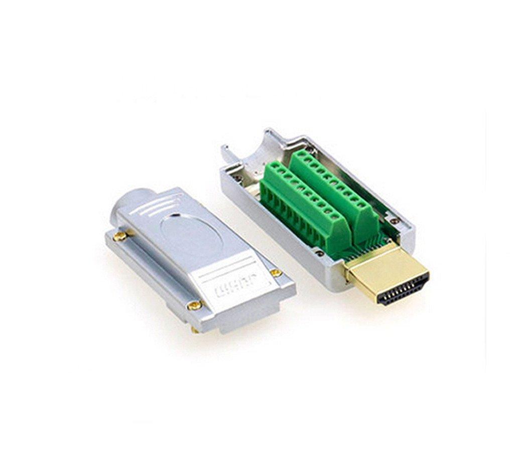 cubierta de pl/ástico y metal Adaptador de HDMI E506