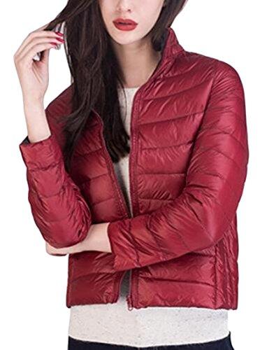 Reversible Anorak Jacket (M&S&W Women's Warm Packable Ultra Light Down Puffer Jacket Coat reversible 2 S)