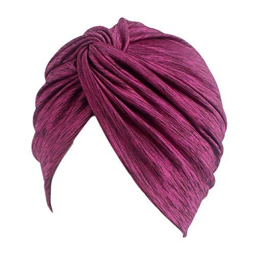 Newest trent Gorro de algodón con Turbante para Mujer, para ...