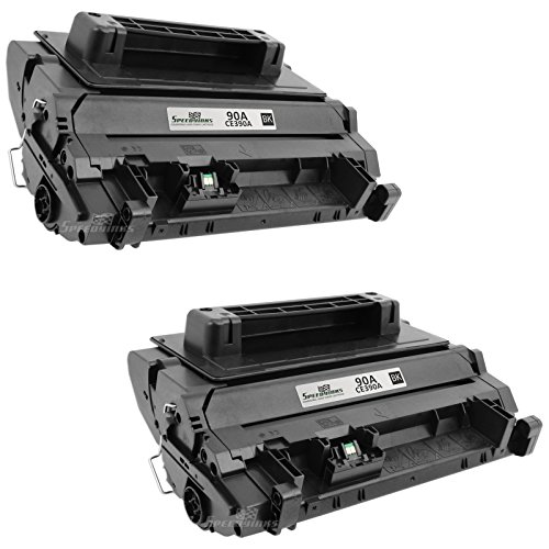 Speedy Inks - 2PK Compatible Replacement for HP CE390A 90A Black Laser Toner for use in LaserJet Enterprise 600 M4555f MFP M4555fskm MFP M4555h MFP M601n M601dn M602n M602dn M602x M603n M603dn M603xh