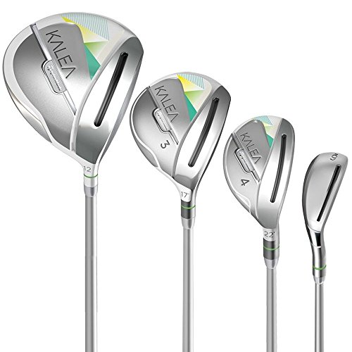 TaylorMade Women's Kalea Golf (10 Piece) Complete Set (Right Hand, Graphite) Taylormade Womens Golf Ball