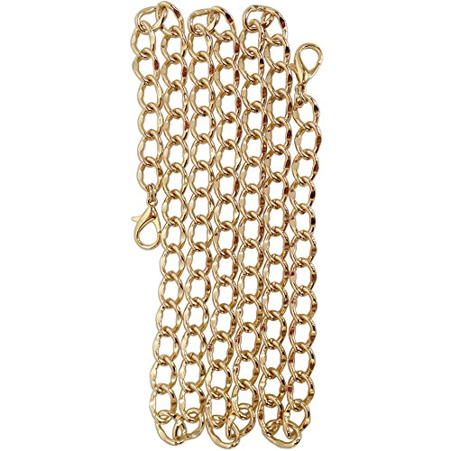 eplacement Purse Chain for Handbag Bag Wallet (Gold Tone) (Gold Link Bag)