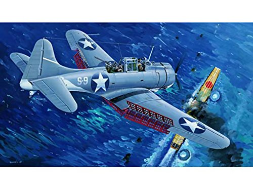 Trumpeter 1/32 02244 US Navy SBD3 Dauntless Midway