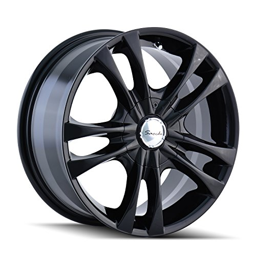 Sacchi S2 220 Wheel with Black Finish (16×7″/5x100mm)