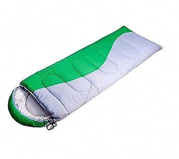 BSD al Aire Libre Espesa el Saco de Dormir de algodón Hueco Sobre el Invierno Puede Coser Doble Saco de Dormir de Pareja: Amazon.es: Deportes y aire libre