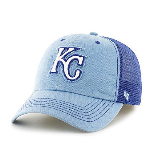 City Gear Kansas Royals (MLB Kansas City Royals Taylor Closer Stretch Fit Hat, One Size, Columbia)