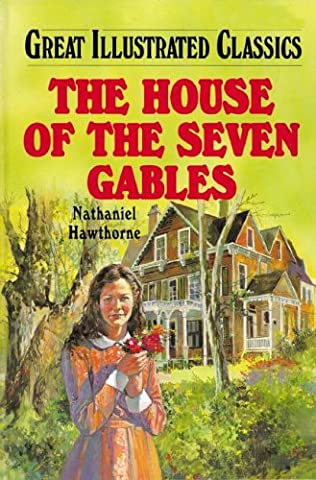 book cover of The House of the Seven Gables