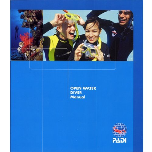 Padi - Open Water Crew Pack - Blue Log Book (Water Padi Open)