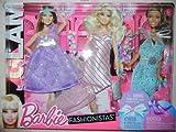 Barbie Fashionistas Night Looks - Glam Night Out Pastel Fashions