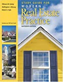 Study Guide for Modern Real Estate Practice, Fillmore Galaty and Wellington Allaway, 0793144299