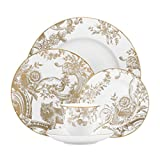 Lenox Marchesa Gilded Forest 5 Piece Place Setting, White