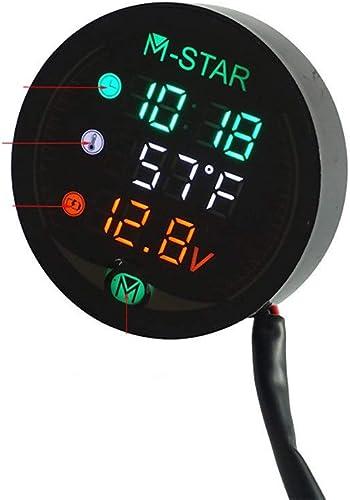 Waterproof Night Vision Motorcycle Meter LED Digital Display