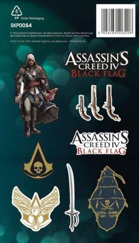 Assassins Creed IV Black Flag Vinyl Sticker Pack