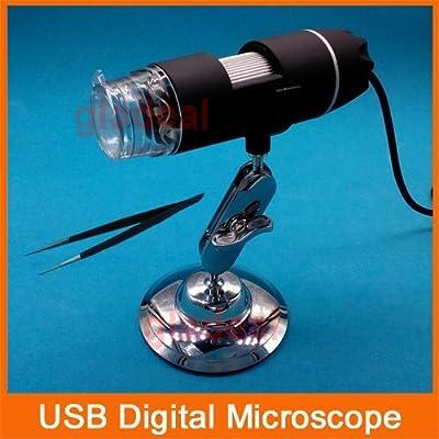 Generic 8 LED USB 500X Digital Microscope Endoscope Magifier Digital Video Camera Microscopio