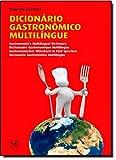 capa de Dicionário Gastronomico Multilingue