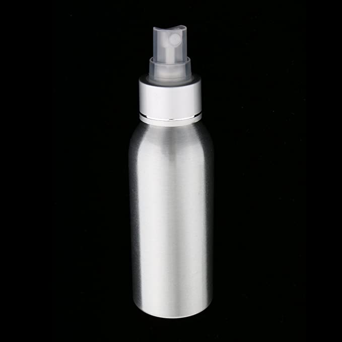 MagiDeal 2 Piezas Botellas de Spray de Perfume de Aluminio Atomizador de Niebla Fina para Viajes - 100 ML: Amazon.es: Juguetes y juegos