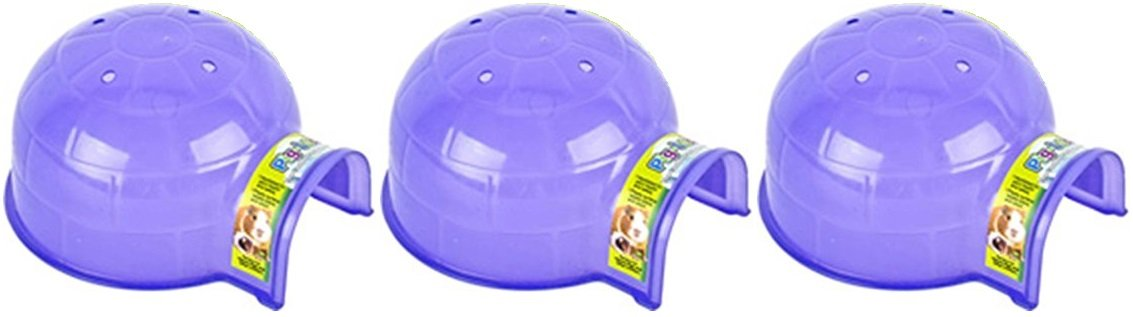 (3 Pack) Pig Loo Small Pet Hideout, Assorted Colors