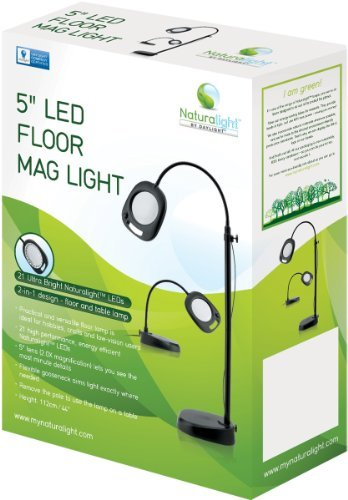 Daylight Naturalight LED Floor Lamp, 5-Inch by Daylight ()
