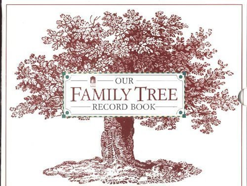 Book Family Tree (Our Family Tree Record Book)