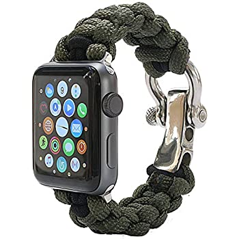 Amazon.com: PSKOOK Replacement for Apple Watch Band 42mm