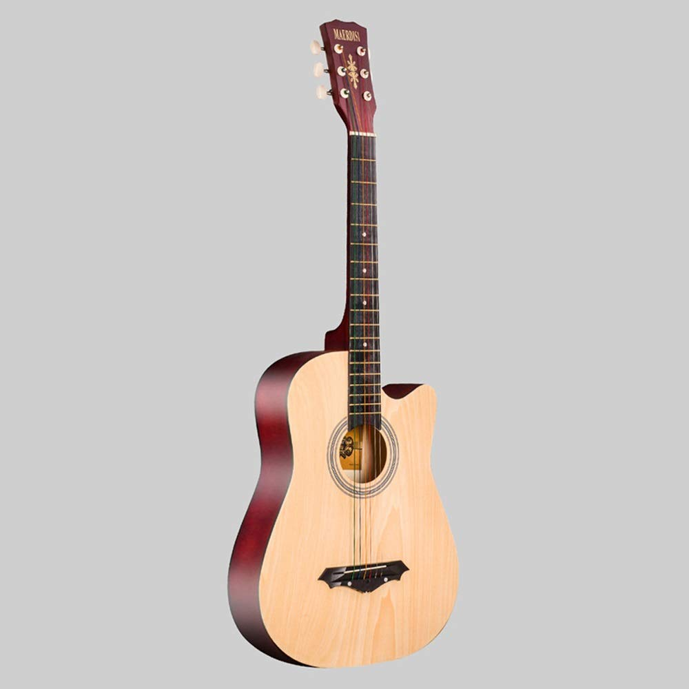 Miiliedy Minimalismo multicolor 41 pulgadas Guitarra acústica ...