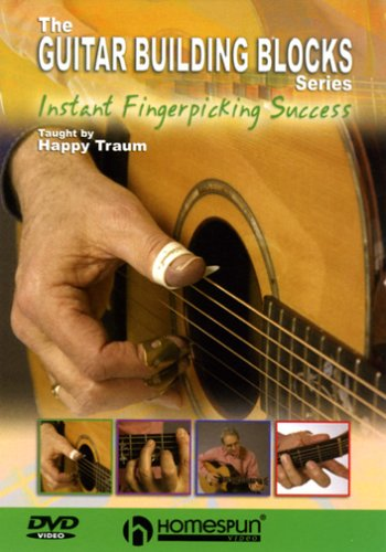 DVD-The Guitar Building Blocks Series-Instant Fingerpicking Success