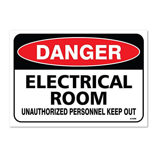 How to buy the best electrical room sign sticker?