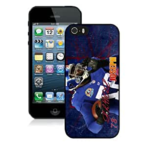 New York Giants-Linval Joseph_iPhone 5 5S Case by lolosakes
