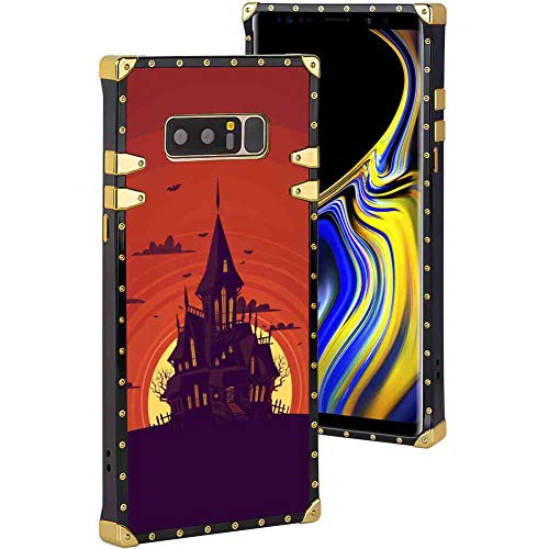 Haunted Manor Cell Phone Case Fit Samsung Galaxy Note 8 (2017) [6.3 Inch] -