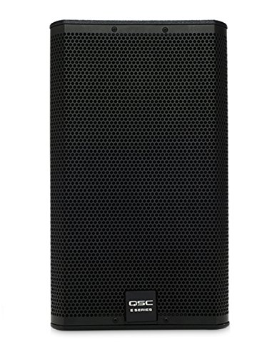 QSC E12BK 400 Watt 12'' 2-Way Full-Range Passive Black Loudspeaker by QSC