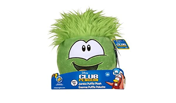 Amazon.com: Club Penguin Jumbo Puffle Plush Green by Club Penguin: Toys & Games
