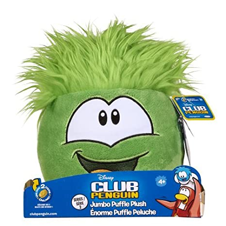 Club Penguin Jumbo Puffle Plush Green by Club Penguin