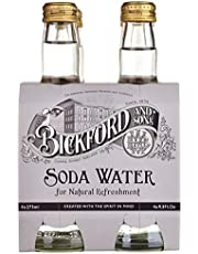 Bickford and Sons Mixer Soda Water, 4 x 275ml Soda Water