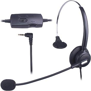 Xintronics 2 5mm Telefon Headset Mono Noise Cancelling Elektronik