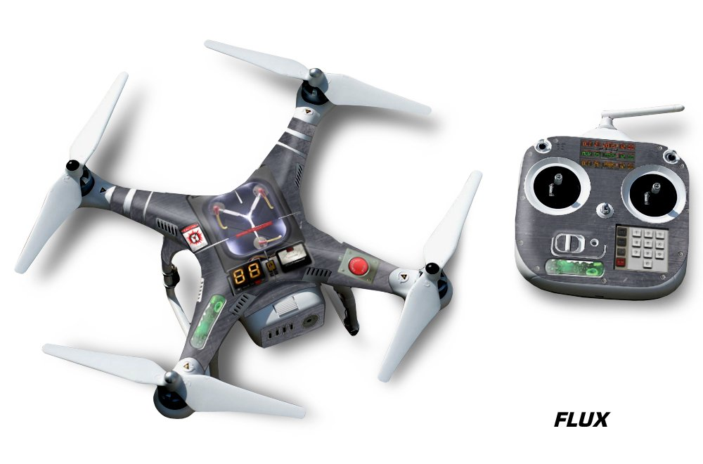 Amazon com designer decal wrap skin for dji phantom 2 quadcopter drone flux camera photo