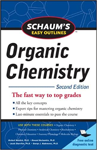 Amazon schaums easy outline of organic chemistry second schaums easy outline of organic chemistry second edition schaums easy outlines 2nd edition fandeluxe Choice Image
