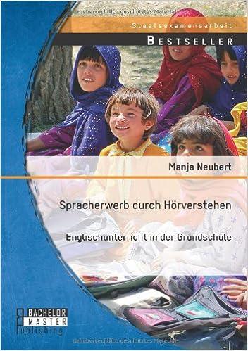Book Spracherwerb durch Hörverstehen - Englischunterricht in der Grundschule